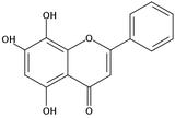 5,7,8-三羟基黄酮/去甲汉黄芩素(Norwogonin)